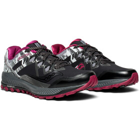 saucony Peregrine 8 Ice+ Shoes Women Black/White